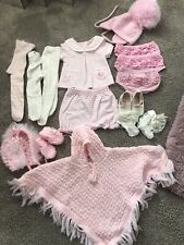 Bundle Baby Girls Clothes 0-3 Months