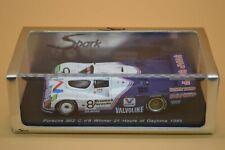 Spark S0947 1:43 Scale Model Of A Porsche 962 C No 8 Won 24hrs Of Daytona 1985