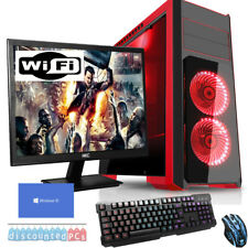 QUADCORE Desktop Gaming PC Computer Bundle 3.6GHz 16GB 2TB Windows 10 np2