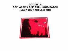 GODZILLA LOGO CARTOON COMICS IRON OR SEW-ON PATCH APPLIQUE SUPER MONSTER