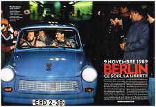 Coupure de presse Clipping 2009 (16 pages) Il y a 20 ans le mur de Berlin