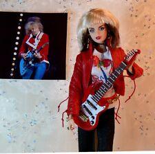 SALE Chrissie Hynde CUSTOM DOLL 24 Karat PRETENDERS Stevie Nicks TOUR Last ONE