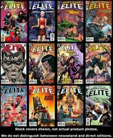 Justice League Elite 1 2 3 4 5 6 7 8 9 10 11 12 Complete Set Run Lot 1-12 VF/NM