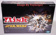 Risk Board Game Of Galactic Domination Star Wars Clone Wars Edition NIB Sealed