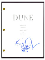 Kyle MacLachlan Signed Autographed DUNE Movie Script Screenplay COA