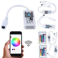Wifi LED Controller+ IR Remote For 5050/3528 RGB/RGBW LED Strip Light