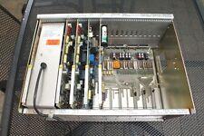 Kleine Telefon-Wähl-Anlage 1W5 SEL UNIMAT 4005-Netzteil + 4 Einschübe