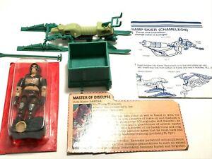 1984 GI JOE COBRA Zartan SEALED w/ Chameleon Swamp Skier Hasbro Complete