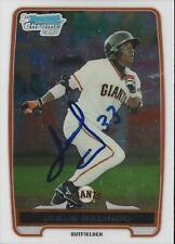 Jesus Galindo San Francisco Giants 2012 Bowman Chrome Signed Card