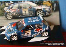 PEUGEOT 306 MAXI #2 RALLYE DE AVILES 1997 AZCONA 1/43 RALLY IXO ALTAYA