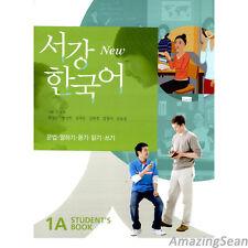 Sogang Korean 1A Student's Book With CD Korean Language Book Conversation BO49