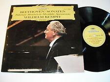Beethoven - Sonaten - Wilhelm Kempff LP - DGG 2830 151