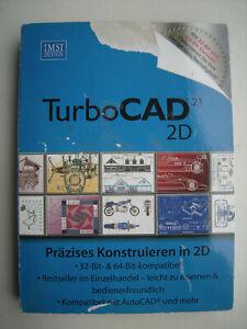 TurboCAD 21 2D Präzises Konstruieren in 2D PC DVD-COM