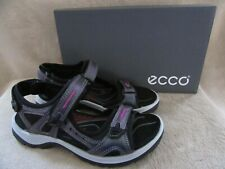 ECCO Offroad Yucatan Leather Iridescent Sandals Shoes Size US 7 - 7.5 EUR 38 NWB