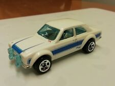 Hot wheels '70 FORD ESCORT RS 1600 white First edition