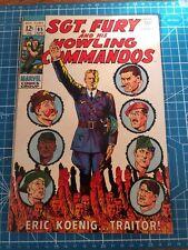 Sgt. Fury And His Howling Commandos 65 Marvel Comics 1969
