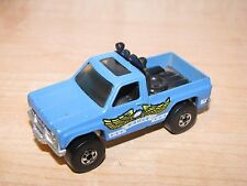 Hot Wheels Black Walls Bywayman GMC Pickup Truck Blue Eagle C10 C-10 1:64