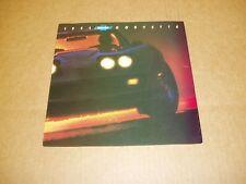 1981 Chevrolet Corvette sales brochure dealer 6 page folder literature