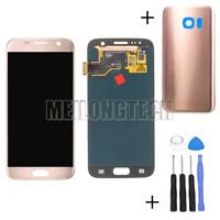 Pour Samsung Galaxy S7 G930F Affichage Écran LCD Vitre Tactile Assemblés Rose