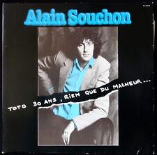 *** 33 TOURS / LP VINYL ALAIN SOUCHON - TOTO 30 ANS... - PRESSAGE FRANCE ***