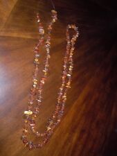 Vintage Russian Cognac Honey Amber Beads On The String 2.7 OZ