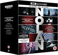 Christopher Nolan Collection [21 Disc 4K + Blu-ray] BRAND NEW !! FREE FAST SHIP
