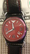 GREAT WRIST WATCH EMPORIO ARMANI AR0558 SOLID STAINLESS STEEL 50 M 5 ATM
