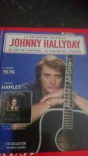 *JOHNNY HALLYDAY* RARE CD* HAMLET** LE N° 40*COLLECTION OFFICIELLE**NEUF*LIVRET*