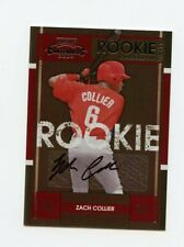 2008 PLAYOFF CONTENDERS ROOKIE RC TICKET AUTOGRAPH AUTO #129 ZACH COLLIER *64930
