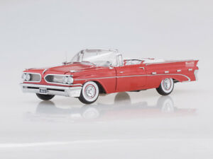 Scale model 1/18 1959 Pontiac Bonneville Open Convertible (Mandalay Red)