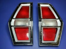 NOS OEM Ford 1972 1976 Pinto Station Wagon Tail Lights Lamps 1973 1974 1975 Lens