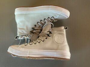 Converse with Lunarlon Size 8.5 Light Tan Color, New.