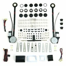 2 Door Universal Power Window Kit w/ 3 Illuminated Switches gear gasser scta ca