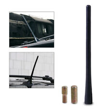 "8"" Universal Car Auto Black Screw Aluminum Car Short Radio Signal Antenna"