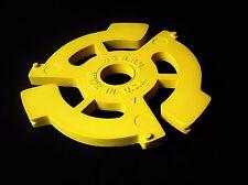 """45 Rpm Record Adapter Pop Art Sculpture Handmade 3-D 12"""" Music Vinyl Insert Big"""