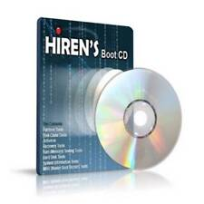 Hirens Boot CD 100s Repair Recover fix Tools Windows XP/7/8.1/10/Vista Utilities