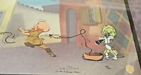 "Chuck Jones Signed ""Rabbit Of Seville"" Hand-painted Limited Edition Cel 327/500"