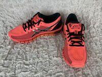 Asics Gel-Quantum Running Shoes 360 T6G6N Flash Coral Black Sneakers Womens Sz 9