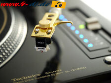 Technics GLD Headshell + shure m44-7 H système