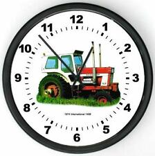 "New 1974 International Harvester Model 1468 Tractor Wall CLOCK 10"" Round"