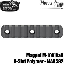 Magpul M-LOK 9-slot Picatinny Rail Section Polymer MLOK for Handguard etc MAG592