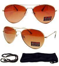 HD Driving Aviator SunGlasses Golf Vision Blue Blocker High Definition FREE Case