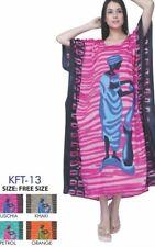LADIES DRESS  PRINT LONG KAFTAN DRESS AFRICAN STYLE TARibal 12 TO 24 DASHIKI