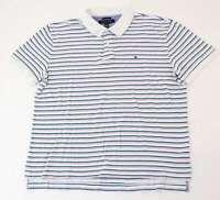 Tommy Hilfiger Poloshirt Polohemd Herren Gr.L blau gestreift -S1012