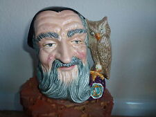 """Royal Doulton Large """"MERLIN"""" Brocca di carattere D6529"""