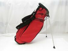 New Ogio Alpha Club Stand Golf Bag (Red) - 4 Way Divider Top