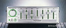 PIONEER CD-5 For illuminated Rack Cassette Deck Component,centrate,kex,kp,kp
