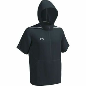 Under Armour Team EVO Cage Mens Short Sleeve Hooded Jacket Size L/XL/2XL 1343184