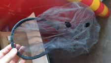headband Black Veil netting netted velvet leaf cutouts wedding mourning funeral
