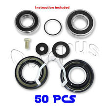 Maytag Neptune Quality 50Pc Bearings & Seals Kit Fits Front Loader 12002022